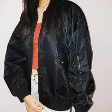 Imp Originals Size Chart Flesh Imp Black Bomber Jacket Mens Fashion Clothes