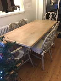 Limed Oak Dining Table And 6 Chairs In Da17 Bexley For 9999 For
