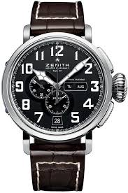 zenith top 100 men watches zenith pilot montre d aeronef zenith type 20 annual calendar mens watch 03 2430 4054 21 c721 top watches for men