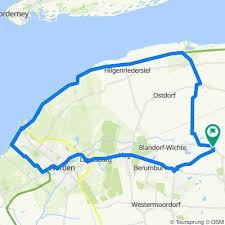 Die gemeinde ist in starkem maße eine. Arle Norddeich Norden Bikemap Your Bike Routes