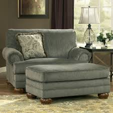 overstuffed chairs with ottoman big chair and slipcovers