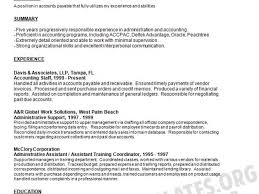 The Purpose Of A Resumes Accounts Payable Resume Template Resume Statement Of Purpose Resume