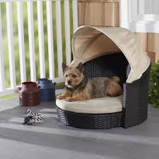 outdoor dog bed with canopy  bed furniture decoration