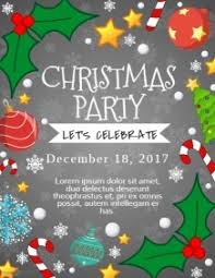 Work Christmas Party Flyers Customize 5 760 Christmas Poster Templates Postermywall