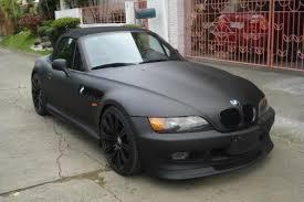 my new matte black z3 lots of pics black bmw z3 1997