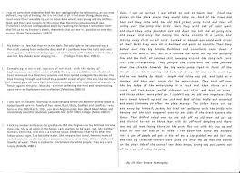 Personal Narrative Essay Example High School Narrative Essay Examples High School Examples Of A Personal