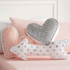 nursery accent pillows  nursery sequins and pillows