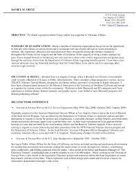 Veteran Resume Resume Templates