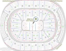 Air Canada Seating Chart With Seat Numbers Toronto Air Canada Centre Seat Row Numbers Detailed