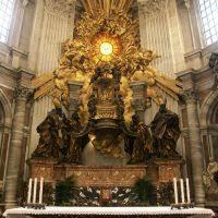gian lorenzo bernini architect biography buildings projects chair of saint peter
