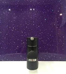 Purple Sparkle PVC Cladding Bathroom Shower Ceiling Panels Wet ...