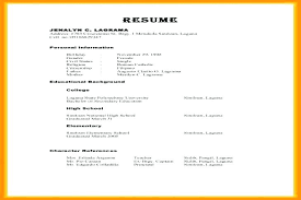 Refrences On Resume Resume References Sample Character Letter Of Recommendation