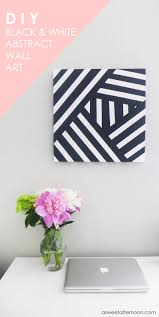 As you might already know from my last DIY wall art project, I tend towards