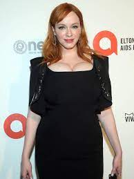 She is said to have an ideal woman body shape. Christina Hendricks Prefers To Dye Her Own Hair