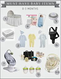 list of items needed for baby high street market my picks for must have baby items 0 3 months