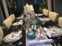 formal dining room table centerpiece