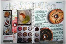 art sketchbook layout ideas google search