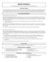 Billing Clerk Resume Sample Best Of Clerk Resume Samples Unit Clerk Resume Samples Sales Clerk Sample