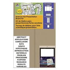 Pacon 1568629 48 X 36 Presentation Board Project Kit With Project Papers