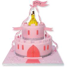 Sparkle Castle Cake Birthday Cakes The Cake Store