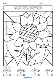 Then just use your back. Free Color By Number Worksheets Cool2bkids