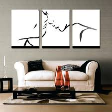 3 piece wall decor 3 piece wall decor colorful abstract art wall art black and white art living room painting home decoration in painting calligraphy