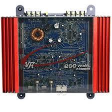 amazon com vr3 vra2 0 amp 200 watt 2 channel mosfet 2 ohm car vr3 vra2 0 amp 200 watt 2 channel mosfet 2 ohm car audio power amplifier