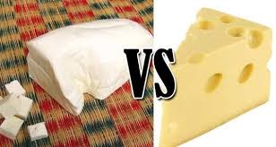 paneer vs cheese
