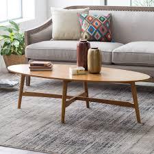 belham living darby mid century modern coffee table pecan finish com
