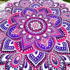 mandala rugs round beach towel outdoor decor life nz