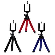 <b>Mini Flexible Sponge</b> Octopus Tripod Portable Phone Camera ...