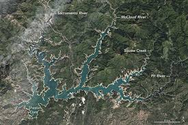 Ca Reservoir Levels Chart Water Levels Rise On Shasta Lake