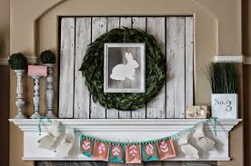 Easter Mantel Decorating Ideas Interior Design