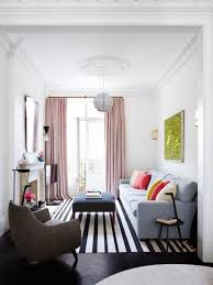 decorating small living room. Simple Decorating Elegant Small Living Room With Ceiling To Floor Curtains For Decorating Small Living Room V
