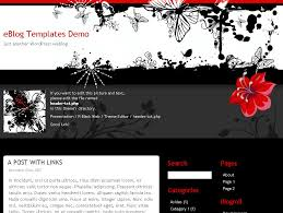 Wordpress Website Templates Gorgeous RBlack Web WordPress Theme EBlog Templates