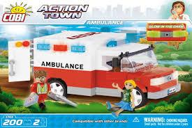 Детский <b>конструктор COBI</b> - Машина скорой помощи: купить по ...