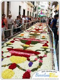 sitges corpus flower carpet festival