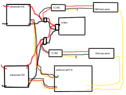 dual esc moa wiring issuesss wtf rccrawler click the image to open in full size