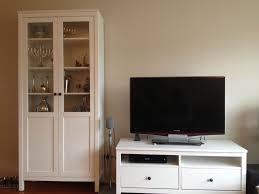 white ikea hemnes bookcase with two drawers tv stand for family room storage design tall