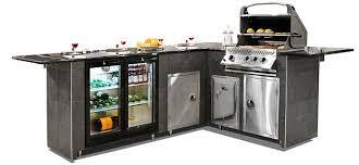 barbecue island kitchen