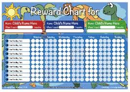 children rewards charts a3 personalised childs reward behaviour charts range quality uk
