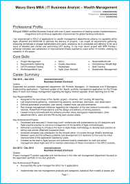 A Winning Resumes Business Analyst Cv Example In Microsoft Word Write A