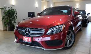 Having set the standards for luxury automobiles for almost a century, mercedes never rest on their laurels and continue to produce astounding vehicles. Pre Owned 2017 Mercedes Benz C300 4matic Coupe For Sale In Toronto Mercedes Benz C300 Used Mercedes Benz Mercedes Benz