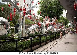 Small Picture Stock Image of Singapore January 2016Christmas decoration on