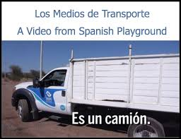Spanish Words: Transportation Video - Spanish Playground