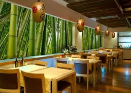 amazing bamboo furniture design ideas. small restaurant interior design ideas with bamboo wall murals amazing furniture