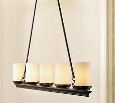 pottery barn s veranda linear chandelier 299 00