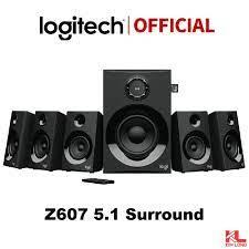 Loa vi tính Logitech Z607 5.1 Bluetooth 160 W Surround Speaker - Bảo hành  12 tháng - Loa Vi Tính Nhãn hiệu logitech