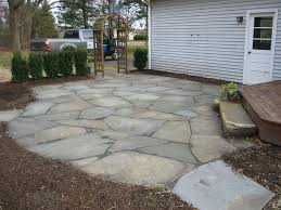 natural flagstone patios and patio pavers
