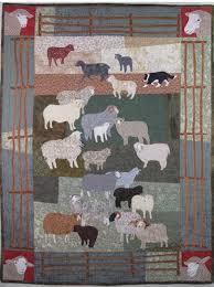 Woolly Sheep Machine Applique Pattern by Debora Konchinsky & Like this item? Adamdwight.com